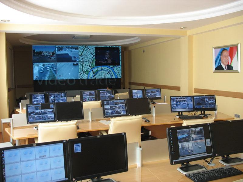 Центр управления дорожным движением ГАИ г. Баку.