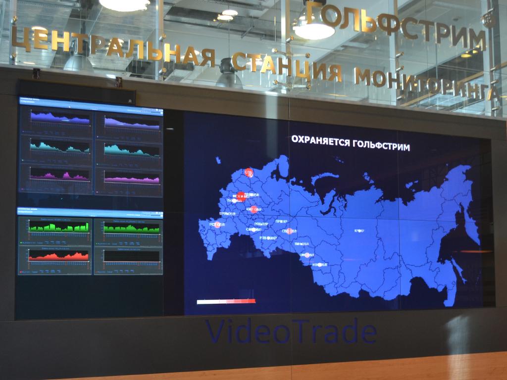 Центральная станция мониторинга охранной компании Гольфстрим-1