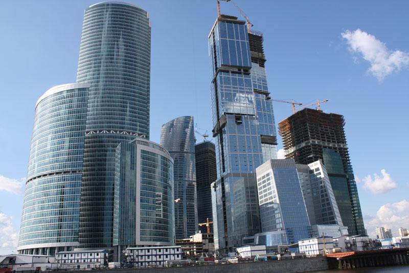 Диспетчерский центр Башни «Запад» комплекса «Москва-Сити».-1