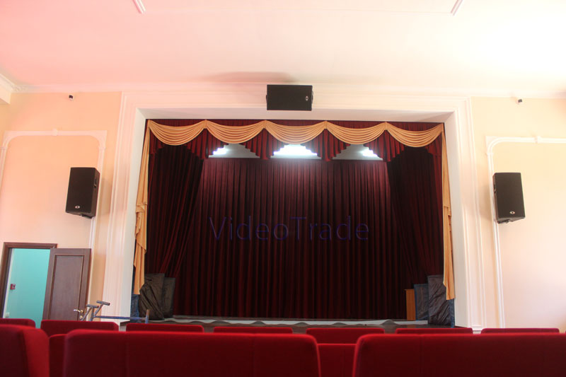 Универсальный актовый зал в пансионате