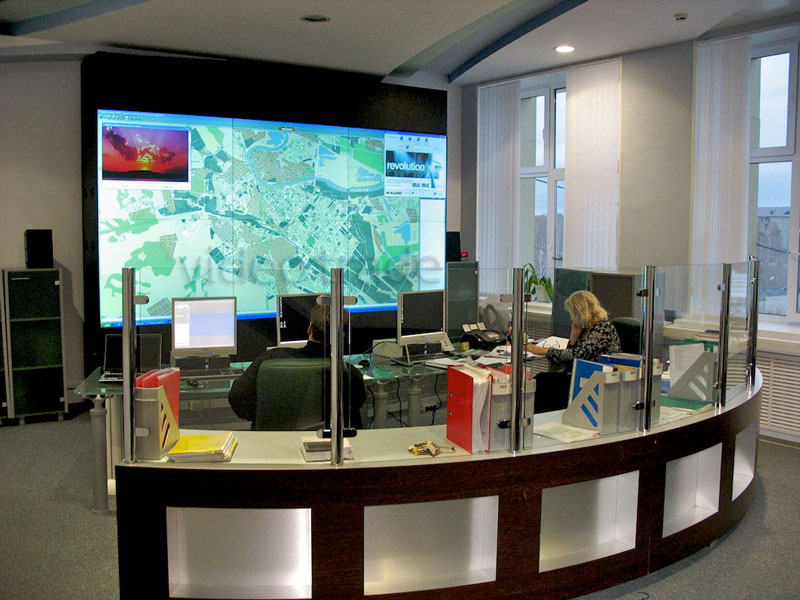 Система отображения информации диспетчерского центра «Водоканал», г.Тюмень.-1