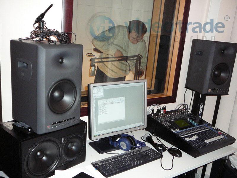 Звуковая студия компании Вымпелком.-1
